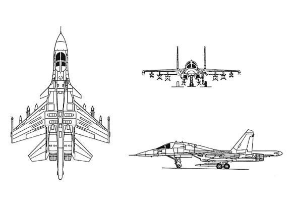 Italeri Su-34